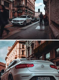 Dreamcar and the city: The Mercedes-Benz GLC Coupé in Milan. Photos by Gijs Spierings (www.gijsspierings.com) for #MBsocialcar