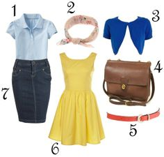 Grease Roll Call Video outfit ideas