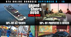 GTA Online Bonuses Week Announced