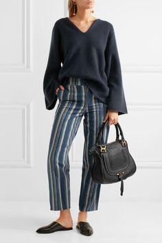 Chloé | The Marcie medium textured-leather tote | NET-A-PORTER.COM