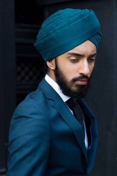 ~ Living a Beautiful Life ~ Turban and suit.