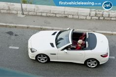 Mercedes-Benz SLK-Class 250 CDI Urban White Convertible. Check out our price for this superb Mercedes. #carleasing #myfvl #mercedes