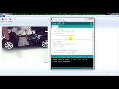 ▶ aula 4489 Arduino Carrinho detach parar e iniciar motores roda esquerda direita - YouTube