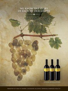 Wine advertising campaign for Jeruzalem Ormož. Each wine from Jeruzalem Ormož has its own story...