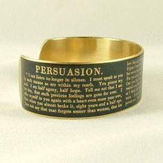 Jane Austen Persuasion Captain Wentworth's by JezebelCharms