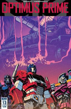 IDW Comics Preview - Optimus Prime Issue #13