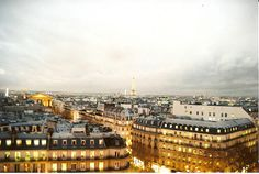 My favorite image of Paris by Bernadette Tin.