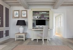Neptune Home Office Study Furniture Design, Modern Home Office Furniture, Neptune Home, Home Office Organization, Home Bedroom, Bedroom Office, Decorating Your Home, Beautiful Homes, House Design