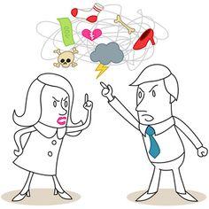Damit am Arbeitsplatz kein Rosenkrieg ausbricht, sollte ein gewisser Stil bei Trennungen am Arbeitsplatz bewahrt werden.
