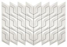 Three-Dimensional Decorative Tiles: The Versatile Collection - http://freshome.com/2011/08/30/three-dimensional-decorative-tiles-the-versatile-collection/