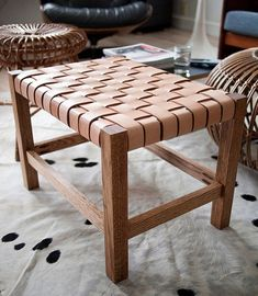 wooden chair, handcrafted using bark trees, perfect for hot and humid climates