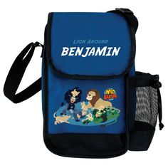 Wild Kratts Lion Around Blue Lunch Bag from PBS Kids Shop