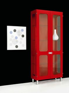 Contemporary china cabinet 2K-SKÅP: 2K472 by P. Gest & T. Almén KARL ANDERSSON. #InteriorDesign.