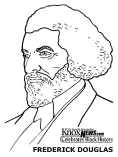 Worksheet Frederick Douglass Worksheet colors coloring pages and on pinterest african american printable click here for a free page of frederick