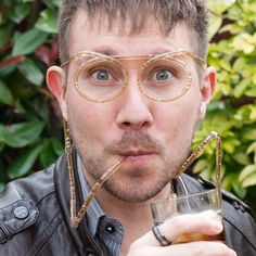 Straw Glasses for Your Drinks
