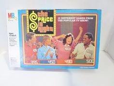 The Price Is Right Game Television 1986 Milton Bradley Complete Based on TV  #MiltonBradley