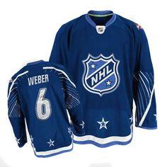 Nashville Predators Shea Weber 6 Blue Authentic Jersey Sale