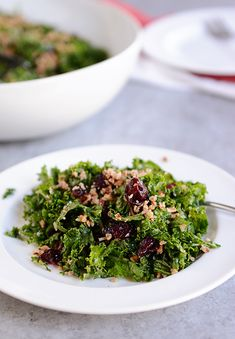 Kale Salad w/ Pecan Parmesan crumble