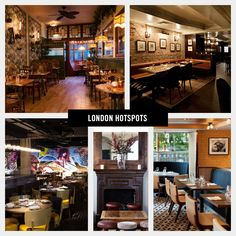 Top London Culinary Hotspots Fall 2013