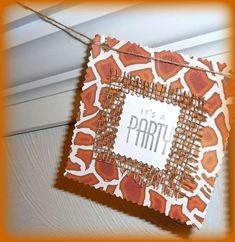Safari Birthday Party Ideas   Photo 1 of 29   Catch My Party