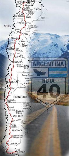 ▷ LOCOS por la RUTA 40 ⭐ VIVE la Ruta Más Larga de Sudamérica!