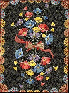 A Jane Blair quilt. So pretty and dramatic