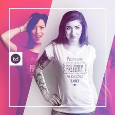 Przyjmę prezenty w każdej ilości #koszulkowo #fashion #tshirt #koszulki #clothes #shopping #ubrania #zakupy #camiloca #prezenty
