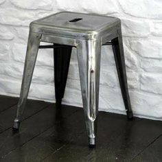 I have had along time obsession with these tolix stools. With and without the back and arms they are just so timeless.