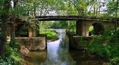 Pont à Porchères © Office de Tourisme  du Libournais