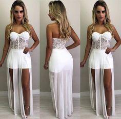 Make Rosa: Inspiração De Looks Para Festas De Fim De Ano Vegas Dresses, Pretty Prom Dresses, Grad Dresses, Cute Dresses, Beautiful Dresses, Casual Dresses, Summer Dresses, Formal Dresses, Sexy Outfits