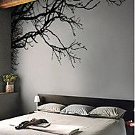 Botanical / Fashion Wall Stickers Plane Wall Stickers , PVC 254cm*112cm