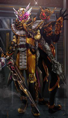 Kamen Rider Decade, Kamen Rider Series, Kamen Rider Zi O, Manga Artist, Power Rangers, Gundam, Character Art, Anime, Armour