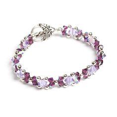 Swarovski Beadwork Bracelet,