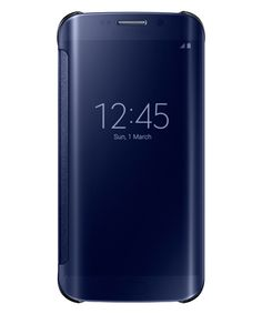 Samsung Galaxy S6 Edge Flip Case Origineel Zwart