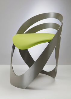 This is a modern and contemporary chair design called Martz Edition. This chair has original design in flowing and continuos shape, wrapping your body in Unusual Furniture, Cool Furniture, Modern Furniture, Plywood Furniture, Design Furniture, Luxury Furniture, Chair Design, Contemporary Chairs, Modern Chairs