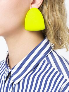 Dainty Silver Stud Earrings- minimal earrings/ modern studs/ simple earrings/ small stud earrings/ brithday gift/ gifts for her/ edgy studs - Fine Jewelry Ideas Diy Clay Earrings, Shell Earrings, Unique Earrings, Earrings Handmade, Diy Statement Earrings, Ceramic Jewelry, Polymer Clay Jewelry, Wood Plastic, Plastic Jewelry