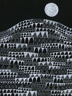 Moonrise // Lisa Congdon, 2015