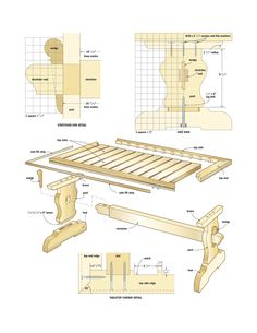 Mission style coffee table plans And photos Built in the tradition of Arts and Crafts Design If anyone wants them comment or email Magazine stand and more free woodworking Woodworking Furniture Plans, Woodworking Projects That Sell, Woodworking Shop, Woodworking Crafts, Woodworking Apron, Woodworking Videos, Youtube Woodworking, Popular Woodworking, Intarsia Wood Patterns