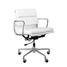 Fotel biurowy CH2171T biała skóra chrom Chair, Furniture, Home Decor, Decoration Home, Room Decor, Home Furnishings, Stool, Home Interior Design, Chairs
