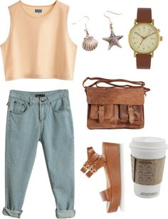 """Just Beachy"" by irridescent ❤ liked on Polyvore"