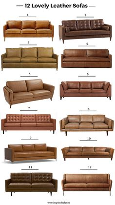 leather sofas that you will absolutely love!