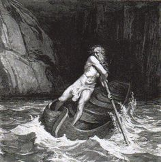 Charon-In Greek mythology , Charon or Kharon is the ferryman of Hades who carries souls of the newly deceased across the rivers Styx and Acheron that divided the world of the living from the world of the dead.