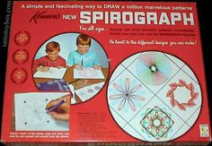 Here is the original Spirograph set, item number 401 dated 1967.