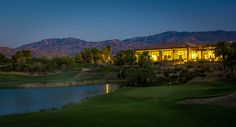 9th Fairway with Clubhouse View #golf #golfisgreat #desertwillow #southerncaliforniagolf #palmspringsgolf