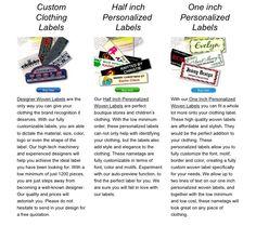 clothing labels products at everestlabel.com
