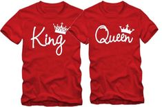 King and Queen Shirt Price Listed for One Tshirt Hello! Welcome to our store! Quality is the first with best service. customers all are our friends. Fashion design,100% Brand New,high quality! ****T shirts we have are true To US Sizes *** Regular Cut for Men and Regular Cut for Women **** Men Couple Tshirts, Family Shirts, King And Queen Crowns, Shark Shirt, Shirt Store, Love Shirt, Tee Shirts, Tees, Shirt Price