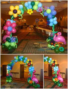 Wonderland in Paris Prom, Arizona Balloons Ballon Decorations, Diy Party Decorations, Balloon Columns, Balloon Arch, Balloon Ideas, Alice In Wonderland Birthday, Wonderland Party, Birthday Balloons, Birthday Parties
