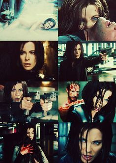 Kate Beckinsale mash up. Underworld Cast, Underworld Selene, Underworld Movies, Underworld Werewolf, Underworld Kate Beckinsale, Rhona Mitra, Nightmare Before Christmas Halloween, Vampire Queen, Hades And Persephone