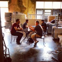 """""""Today's interviews were awesome! Thanks to everyone who came out. #noda #hiring #ncbeer #cltbeer #nowhiring #interview"""""""
