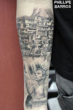 Favela / Rio de Janeiro / Por : Phillipe Barros Preto e cinza Black and gray portrait retrato tattoo tatuagem realismo realism art arte artistic artista draw desenho painting pintura illustration color colorida estúdio rio de janeiro norway artist world Instagram: https://www.instagram.com/phillipe_barros/ Facebook: https://www.facebook.com/phillipe.barros.79 fanpage: https://www.facebook.com/phillipebarrosarte/?fref=ts pinterest: https://es.pinterest.com/phillipebarros7/barros/